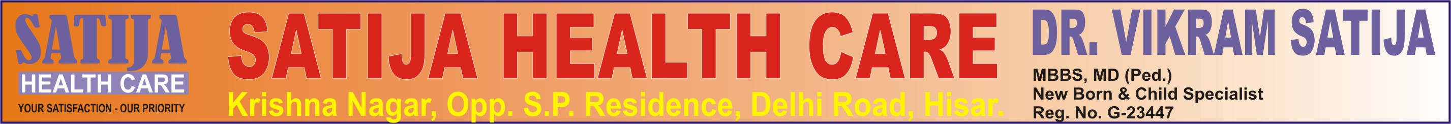 SATIJA HEALTH CARE
