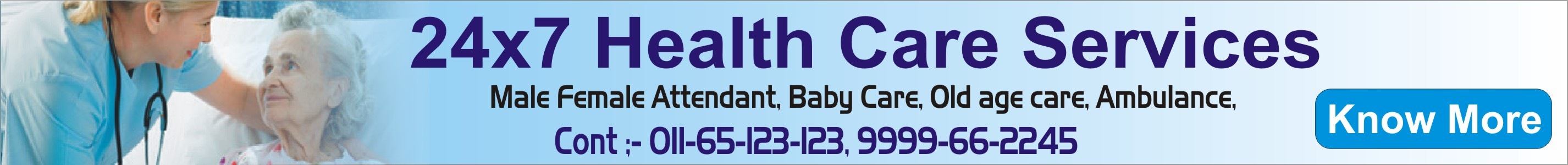 24x7 health care services